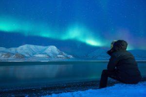Auf Polarlichterjagd mit Hurtigruten