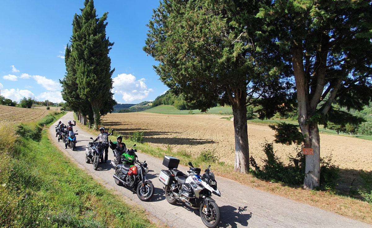 8 Tage Kurvenparadies Apennin SPECIAL